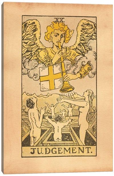 Judgement Tarot Canvas Art Print