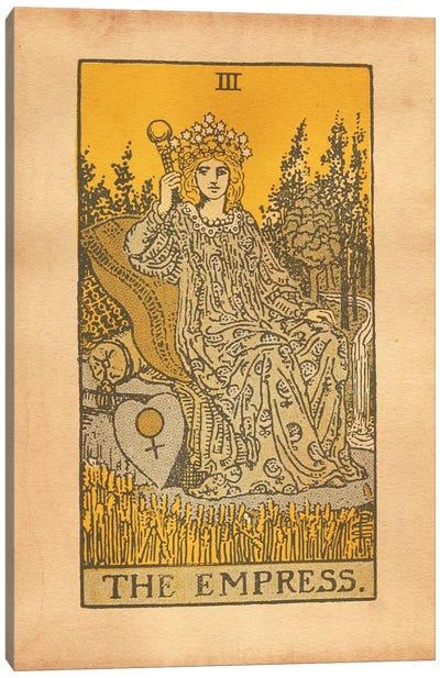 The Empress Tarot Canvas Art Print