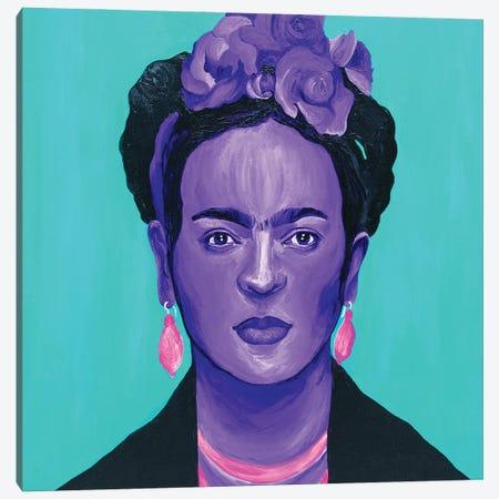 Frida Kahlo Canvas Print #SMG14} by Sammy Gorin Canvas Art Print