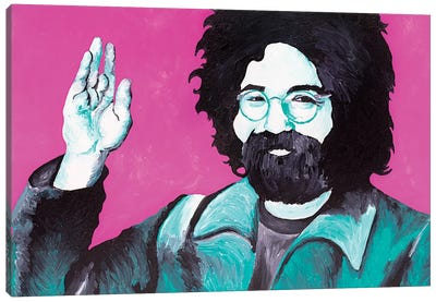 Jerry Garcia Canvas Art Print
