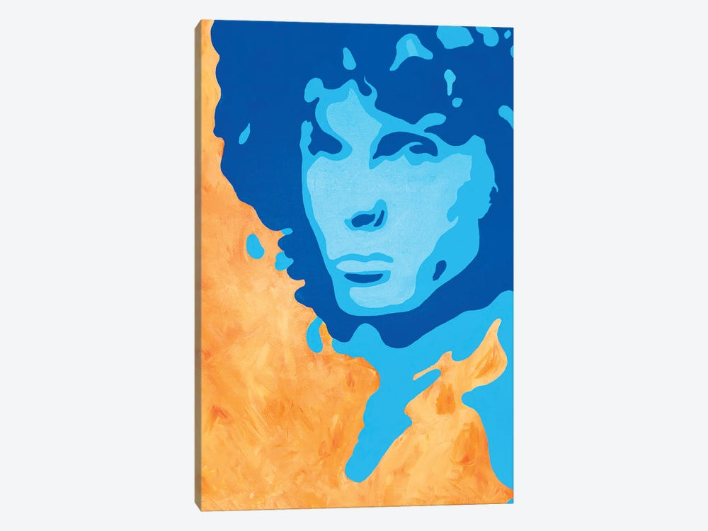 Jim Morrison by Sammy Gorin 1-piece Canvas Print