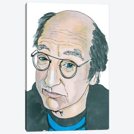 Larry David Canvas Print #SMG19} by Sammy Gorin Canvas Artwork