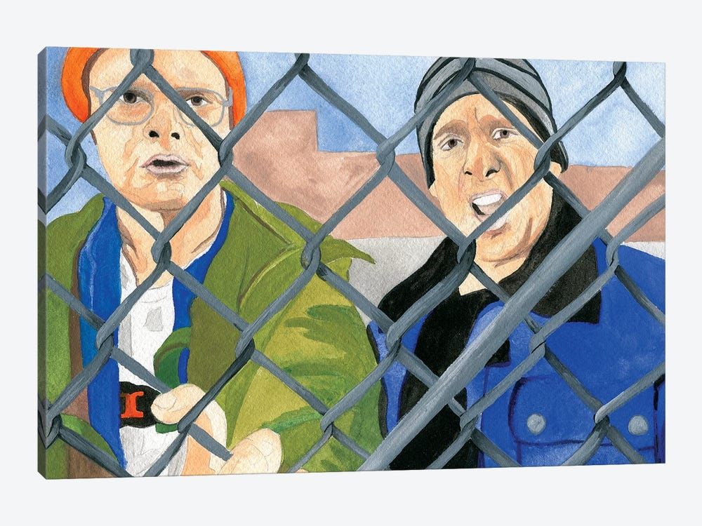 Lazy Scranton by Sammy Gorin 1-piece Canvas Wall Art