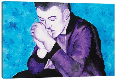 Sam Smith Canvas Art Print