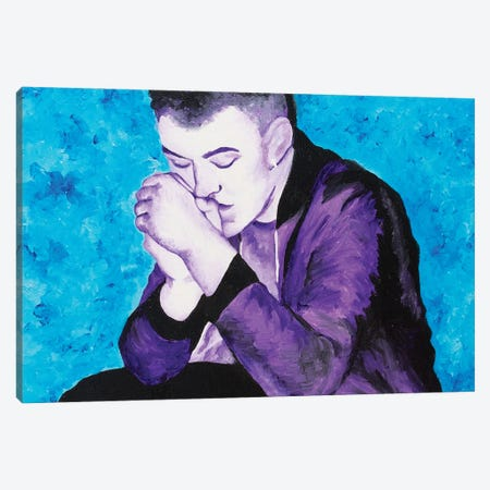 Sam Smith Canvas Print #SMG27} by Sammy Gorin Canvas Wall Art