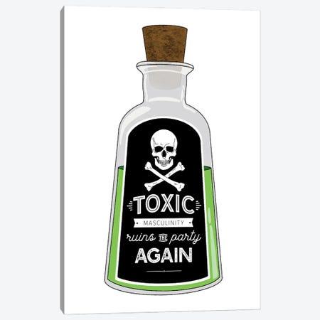 Toxic Masculinity Canvas Print #SMG31} by Sammy Gorin Canvas Wall Art