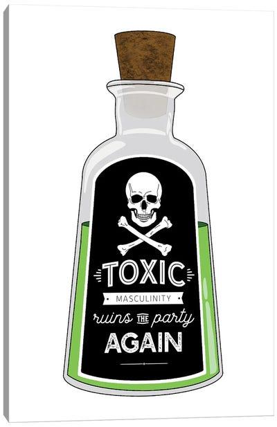 Toxic Masculinity Canvas Art Print