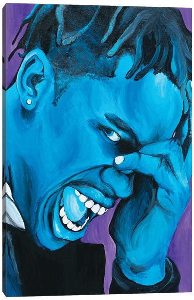 Travis Scott Canvas Art Print