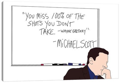 Wayne Gretzky Canvas Art Print
