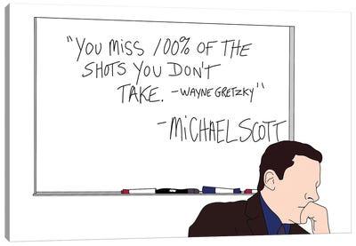 Wayne Gretzky Canvas Art Print