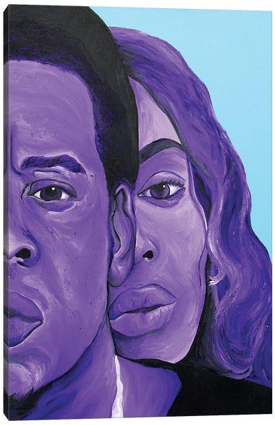 Bey Jay On The Run Canvas Art Print