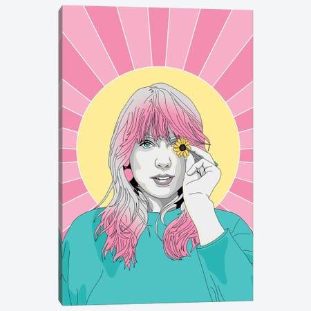 Taylor Swift Canvas Print #SMG41} by Sammy Gorin Art Print