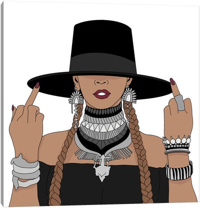 Beyonce Formation Canvas Art Print