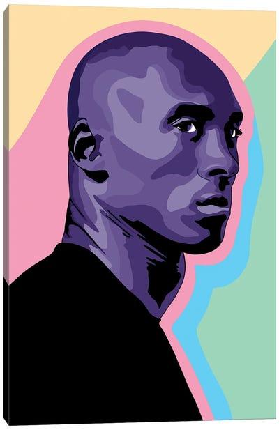 Kobe Bryant Cut-Out Canvas Art Print
