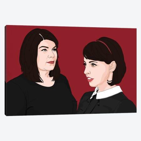 MFM Karen Kilgariff And Georgia Hardstark Canvas Print #SMG57} by Sammy Gorin Canvas Art Print