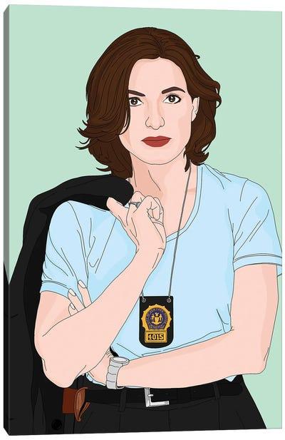 Detective Olivia Benson Canvas Art Print