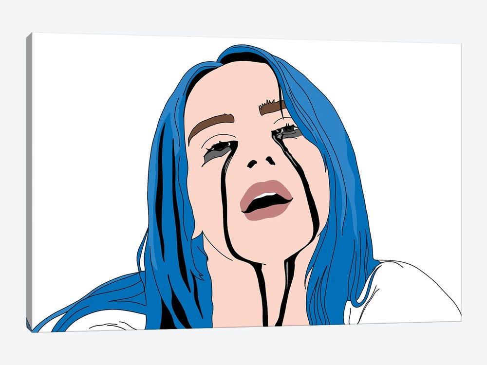 Billie Black Tears by Sammy Gorin 1-piece Canvas Art Print