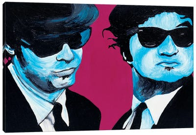 Blues Brothers Canvas Art Print