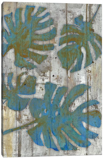 Distressed Palms Canvas Art Print
