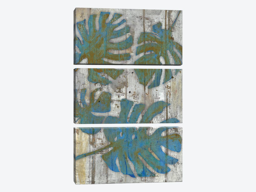 Distressed Palms 3-piece Canvas Artwork