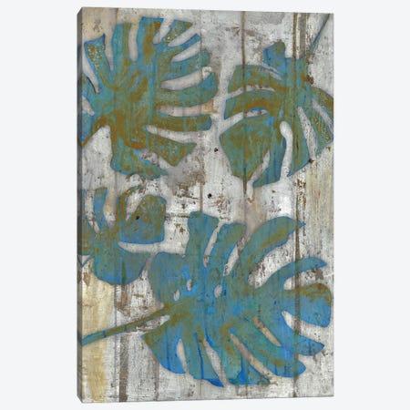 Distressed Palms 3-Piece Canvas #SMH11} by Smith Haynes Canvas Print