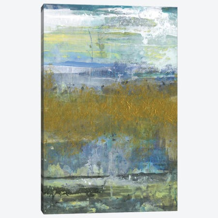 Golden Stream Canvas Print #SMH17} by Smith Haynes Canvas Artwork