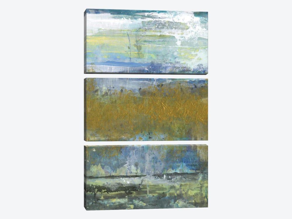 Golden Stream by Smith Haynes 3-piece Canvas Artwork