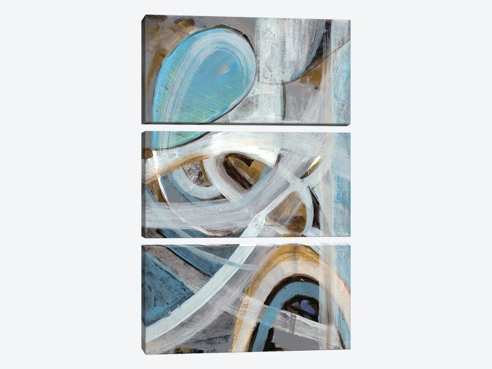 Infinite Coaster II by Smith Haynes 3-piece Canvas Art