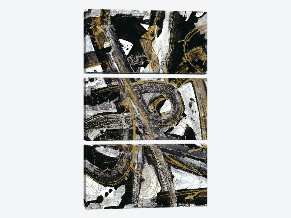 Night Coaster by Smith Haynes 3-piece Canvas Print