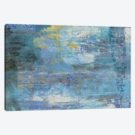 Sapphire Collision I Canvas Print #SMH27} by Smith Haynes Canvas Print