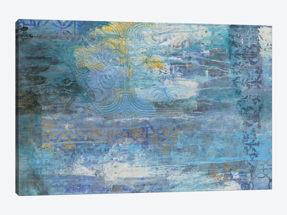 Sapphire Collision I by Smith Haynes 1-piece Canvas Art Print