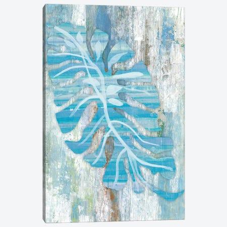 Blue Dreams Palm Canvas Print #SMH3} by Smith Haynes Canvas Art Print