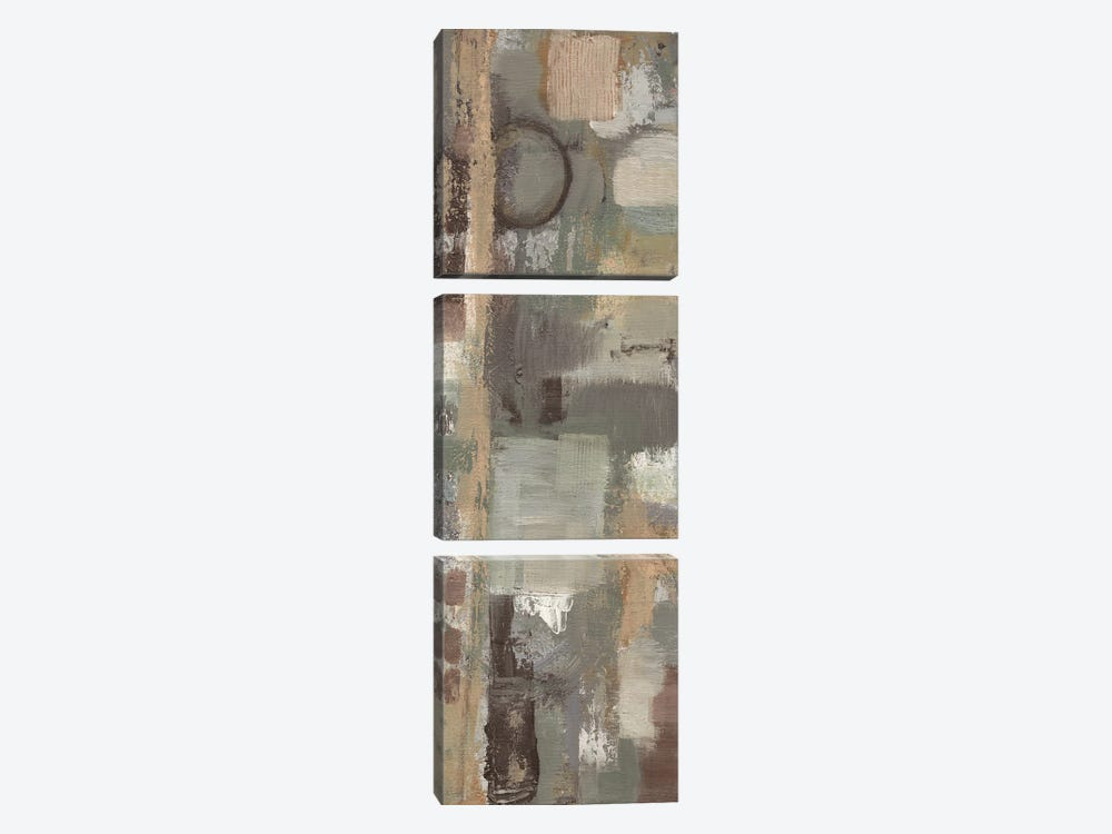 Earthy Stains 3 by Smith Haynes 3-piece Canvas Art