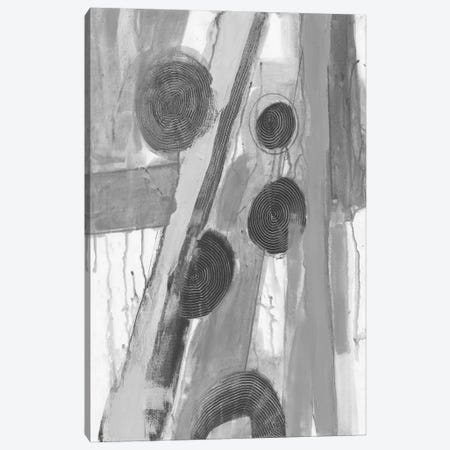 Monochromatic Smears II Canvas Print #SMH49} by Smith Haynes Canvas Wall Art