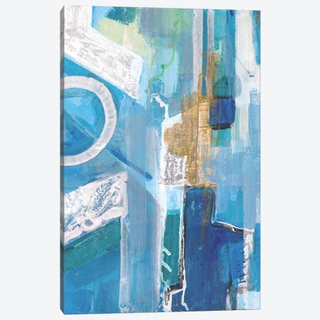 Blue Force Canvas Print #SMH4} by Smith Haynes Canvas Artwork