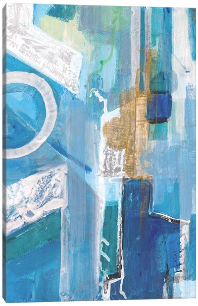 Blue Force Canvas Art Print