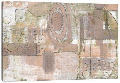 Parallel Strokes I Canvas Art Print