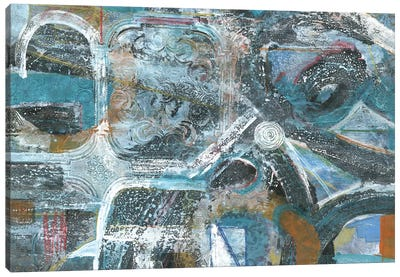Bronze Highways Canvas Art Print