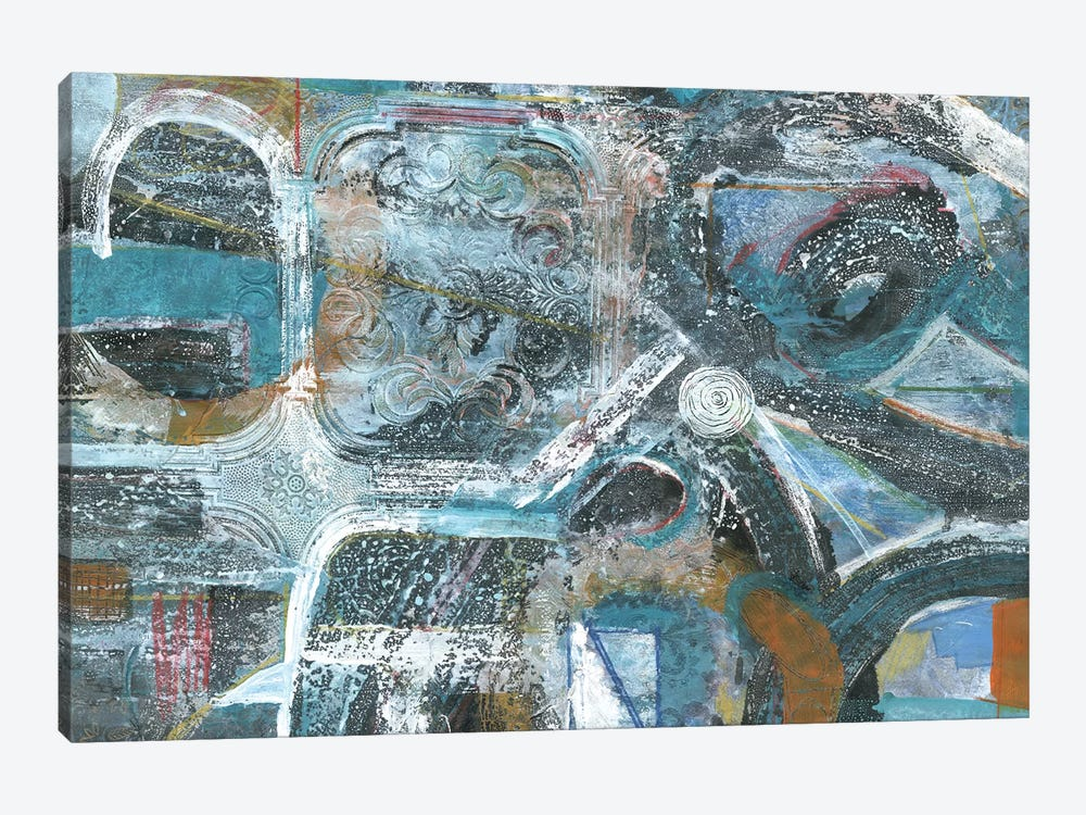 Bronze Highways by Smith Haynes 1-piece Canvas Print