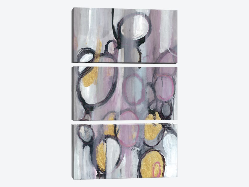 Bubbly Lavender by Smith Haynes 3-piece Canvas Wall Art