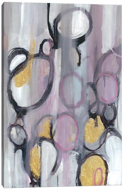 Bubbly Lavender Canvas Art Print