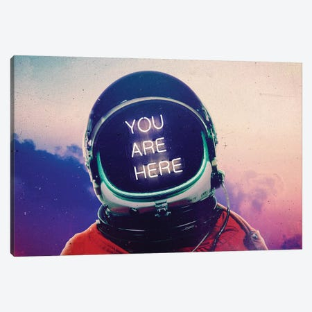 Where You Are Canvas Print #SML107} by Seamless Canvas Print