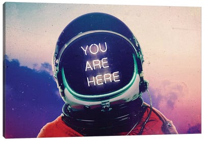 Where You Are Canvas Art Print