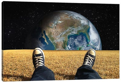 World View Canvas Art Print
