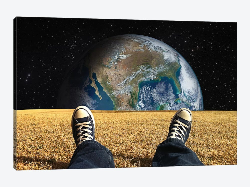 World View by Seamless 1-piece Canvas Wall Art