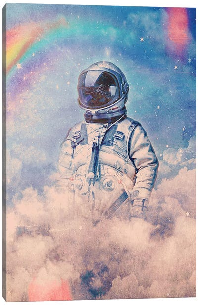 Between The Clouds Canvas Art Print