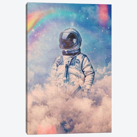 Between The Clouds Canvas Print #SML15} by Seamless Canvas Artwork