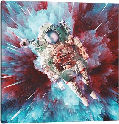 Chroma Void Canvas Art Print