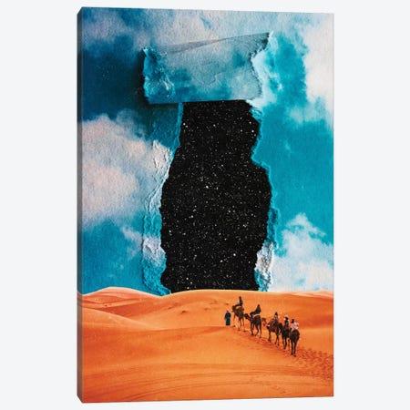 False Sky Canvas Print #SML30} by Seamless Art Print