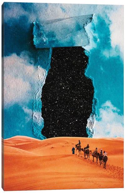 False Sky Canvas Art Print